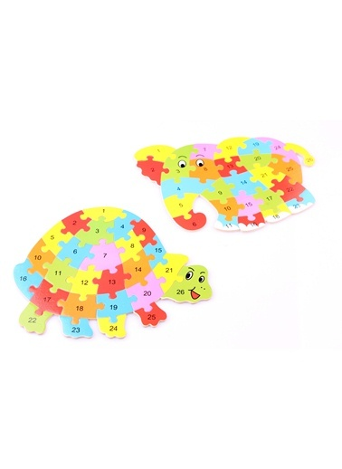 2'li Hayvan Figürlü Ahşap Bulmaca Paketi-Learning Toys